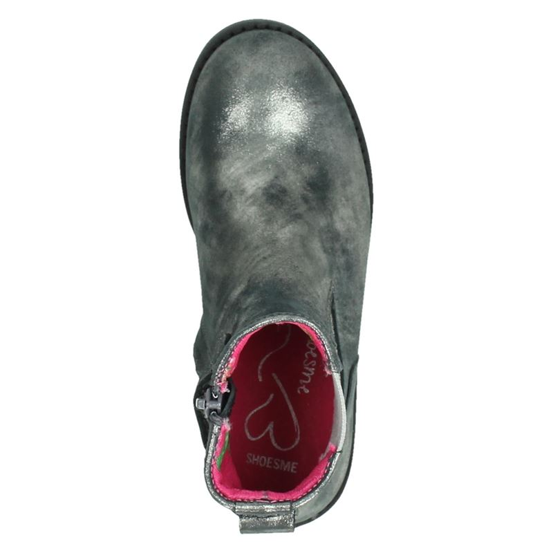 Shoesme - Enkellaarsjes - Zilver