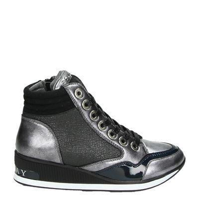 Replay meisjes sneakers grijs