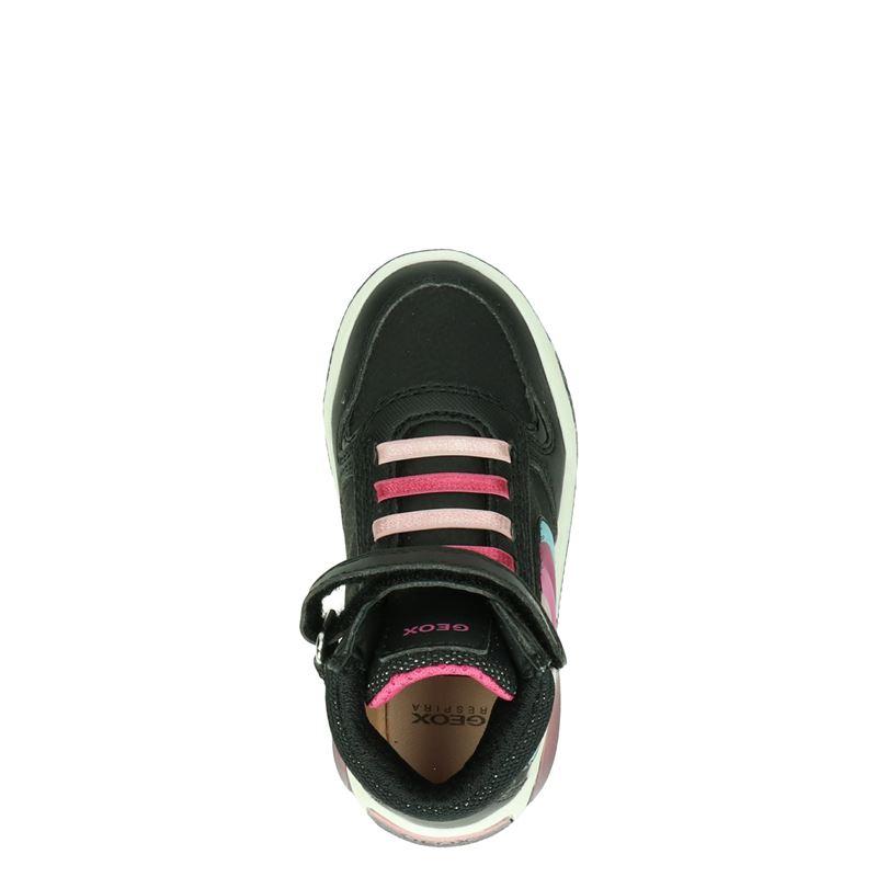 Geox Inek - Klittenbandschoenen - Zwart