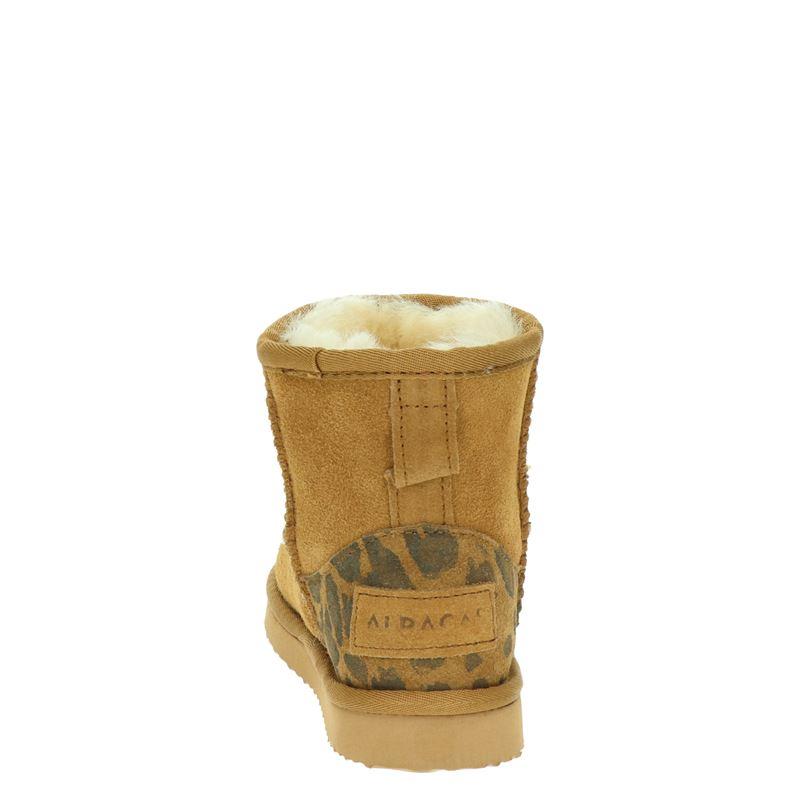 Alpacas - Rits- & gesloten boots - Cognac