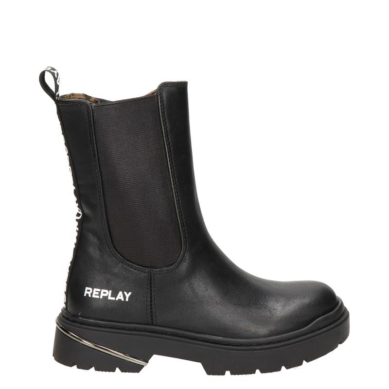 Replay - Rits- & gesloten boots - Zwart