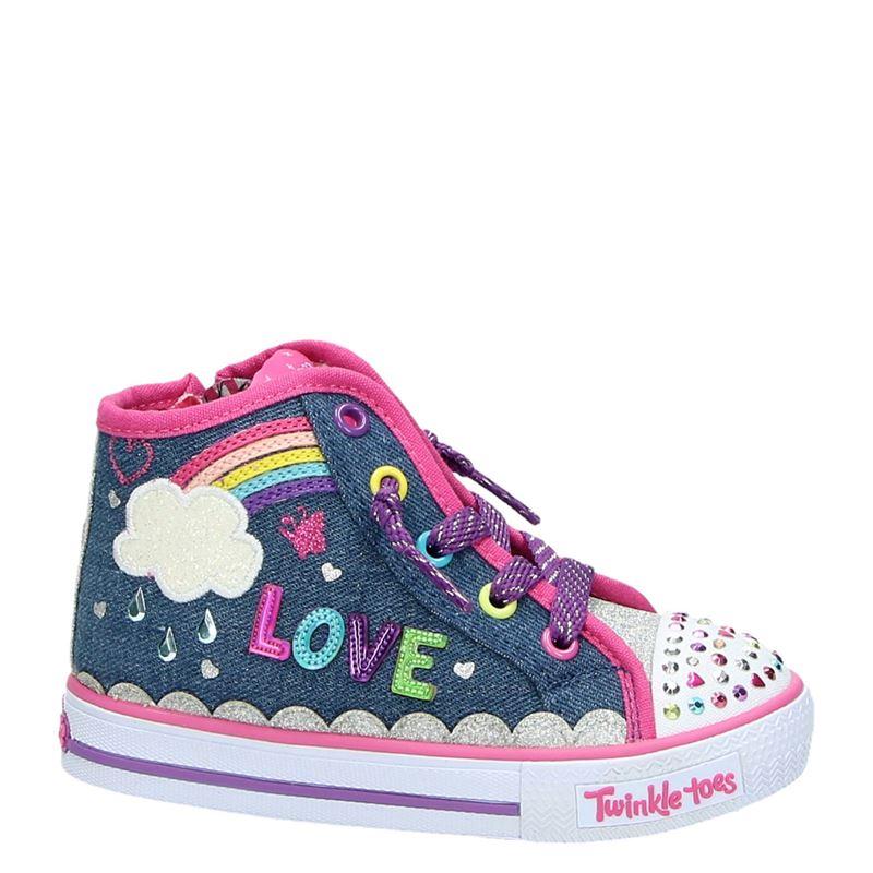 Skechers Twinkle Toes - Hoge sneakers - Blauw