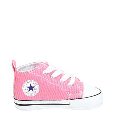 Converse meisjes babyschoenen roze