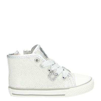 Little David meisjes sneakers zilver