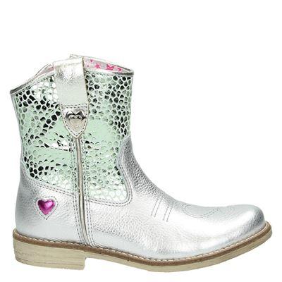 Mim-Pi meisjes laarsjes & boots zilver