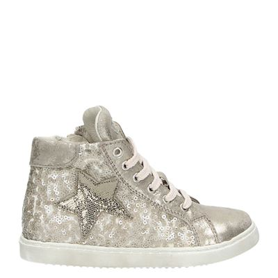 Clic! meisjes sneakers taupe