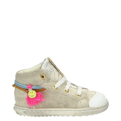 Shoesme meisjes sneakers taupe