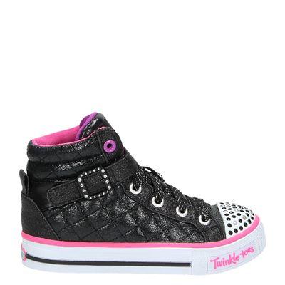 Skechers meisjes laarsjes & boots zwart