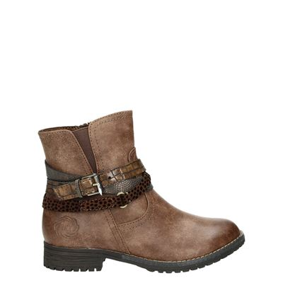 Marco Tozzi meisjes laarsjes & boots cognac