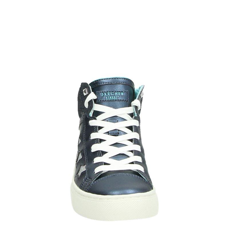 Skechers Sidestreet - Hoge sneakers - Blauw