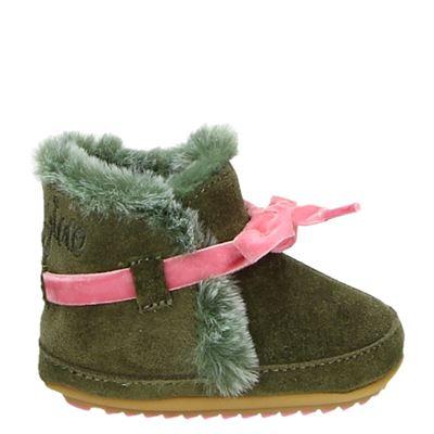 Vingino meisjes babyschoenen groen