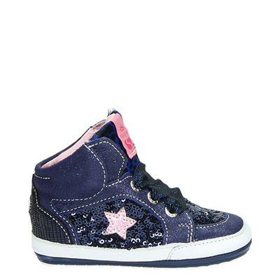 Shoesme meisjes babyschoenen blauw