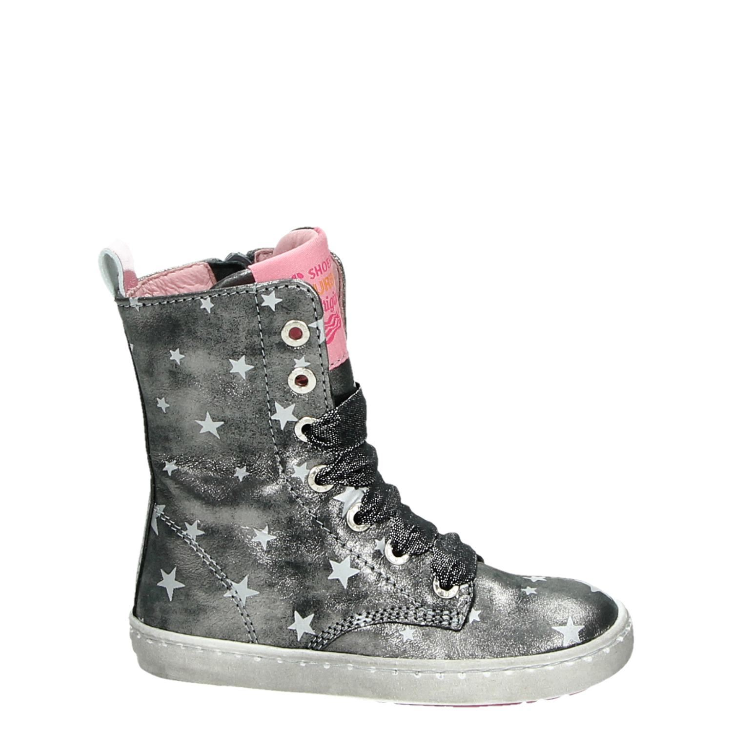 Shoesme - Veterbootie - Taille 25 - Argent uYHpaWi