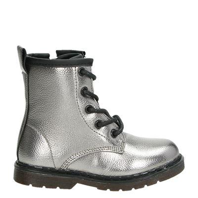 Orange Babies meisjes laarsjes & boots zilver