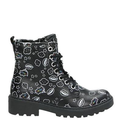 Geox meisjes laarsjes & boots zwart