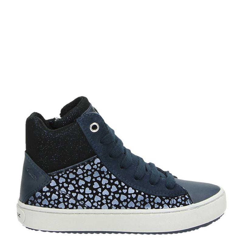 Geox kindersneaker blauw en print