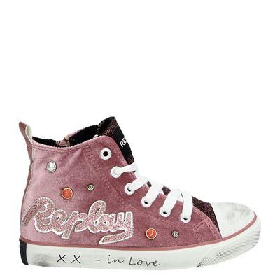 Replay meisjes sneakers roze