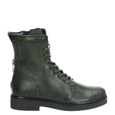 Giga meisjes laarsjes & boots groen