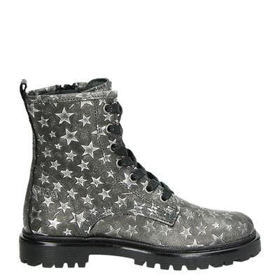 Giga meisjes laarsjes & boots zilver