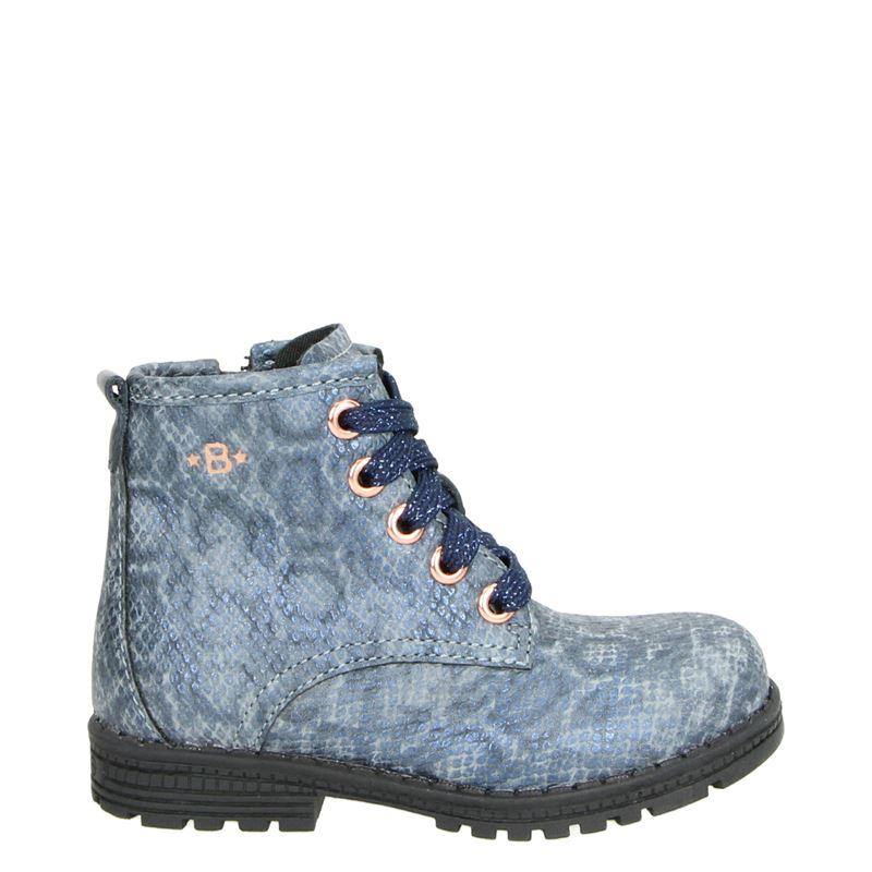 Orange Babies - Hoge sneakers - Blauw