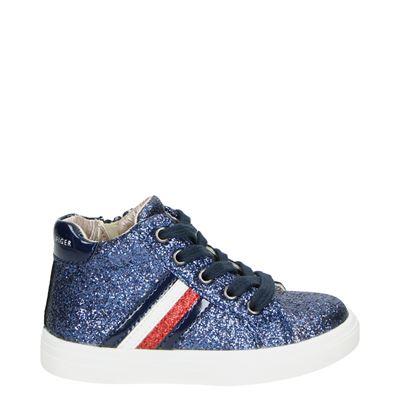Tommy Hilfiger meisjes sneakers blauw