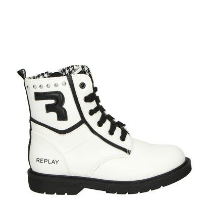Replay meisjes laarsjes & boots wit