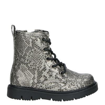 Nelson Kids meisjes laarsjes & boots zilver
