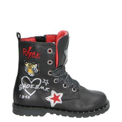 Shoesme meisjes laarsjes & boots zwart