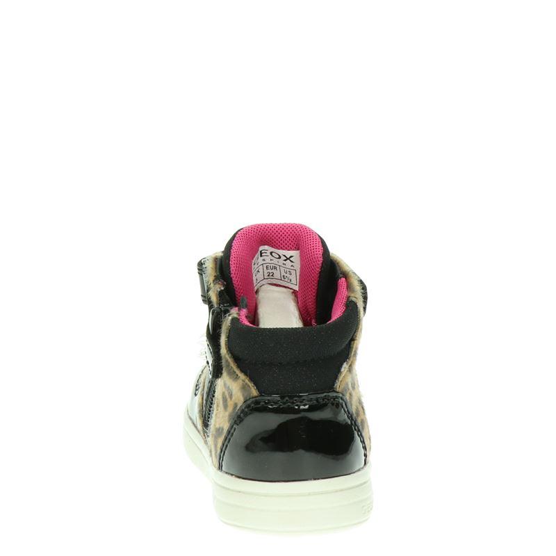 Geox DJ Rock - Klittenbandschoenen - Zwart