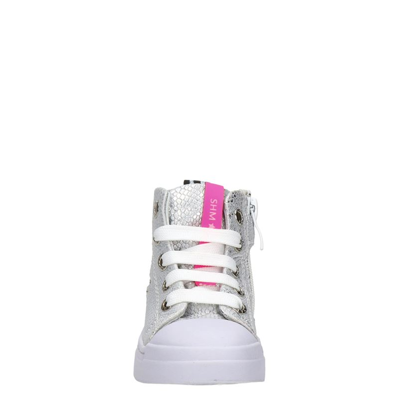 Shoesme - Hoge sneakers - Zilver