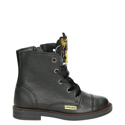 Vingino meisjes laarsjes & boots zwart