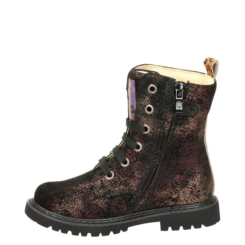 Shoesme - Veterboots - Brons