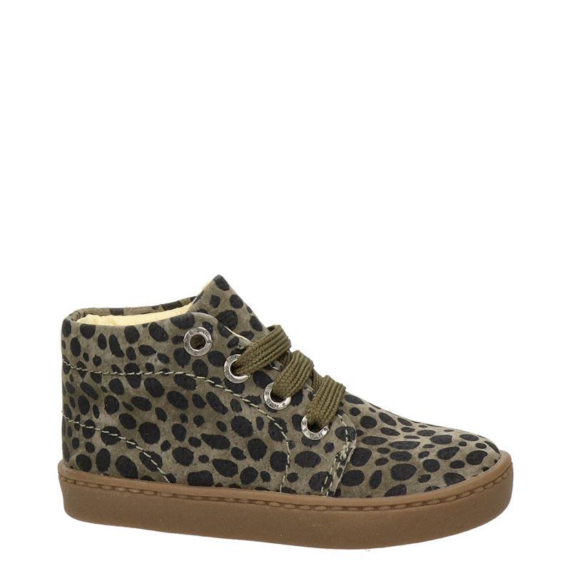 Shoesme - Hoge sneakers - Groen