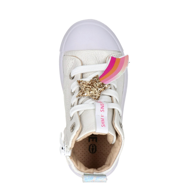 Shoesme - Hoge sneakers - Wit