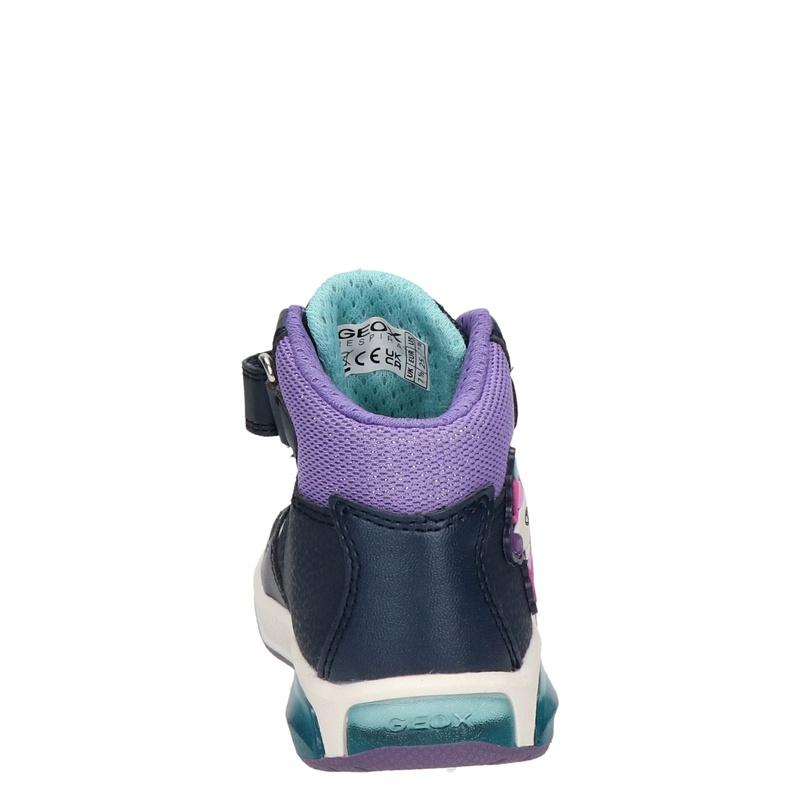 Geox Inek - Hoge sneakers - Blauw