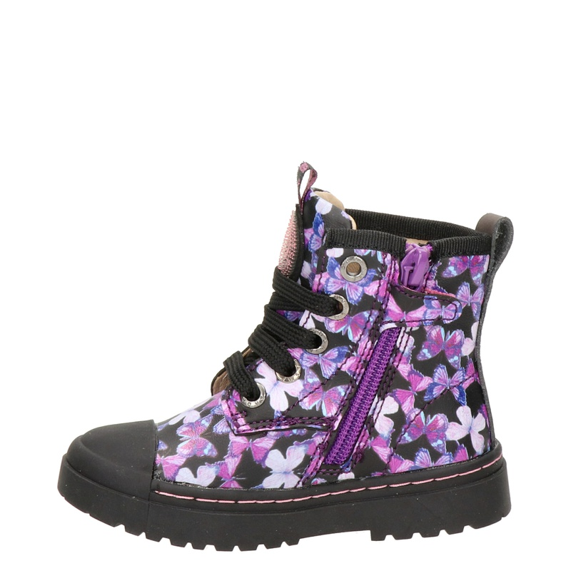 Shoesme - Veterboots - Paars