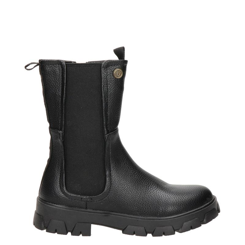 Vingino Joanne - Rits- & gesloten boots - Zwart