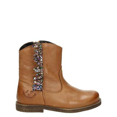 Little David meisjes laarsjes & boots cognac