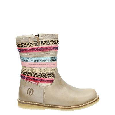 Shoesme meisjes laarsjes & boots taupe