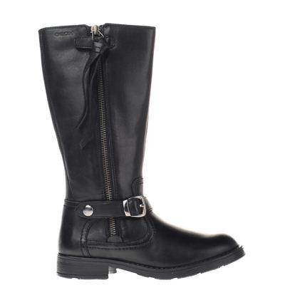 Geox meisjes laarzen zwart