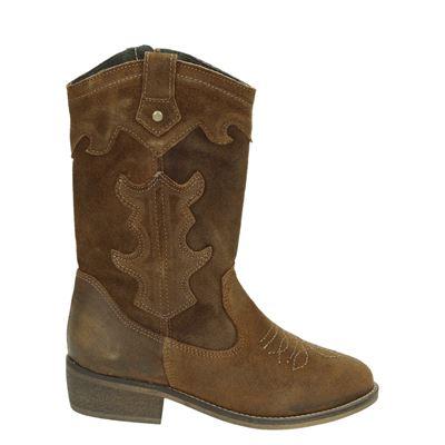 PS Poelman meisjes laarsjes & boots bruin