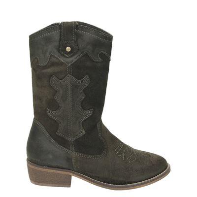 PS Poelman meisjes laarsjes & boots groen
