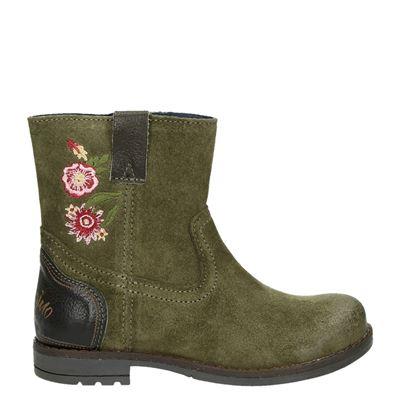 Vingino meisjes laarsjes & boots groen