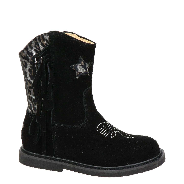 Shoesme Enkellaarzen zwart  