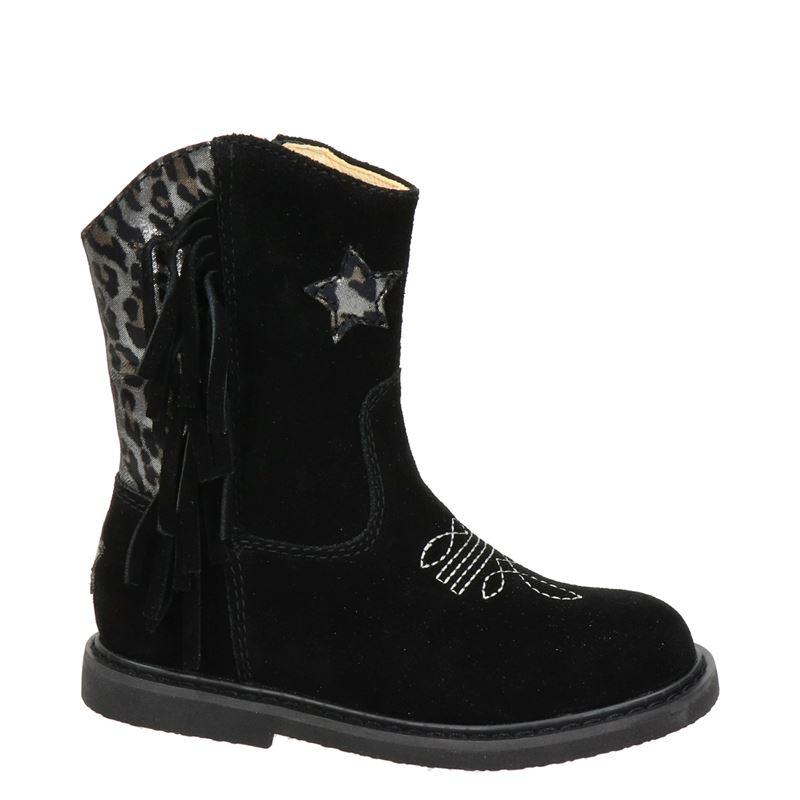 Shoesme - Cowboylaarzen - Zwart