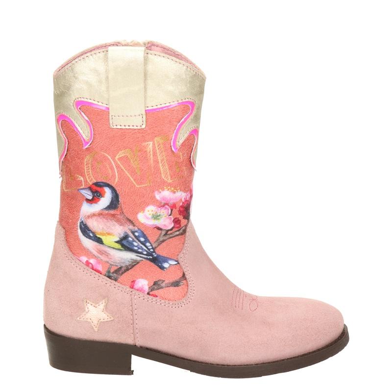 Shoesme - Cowboylaarzen - Roze