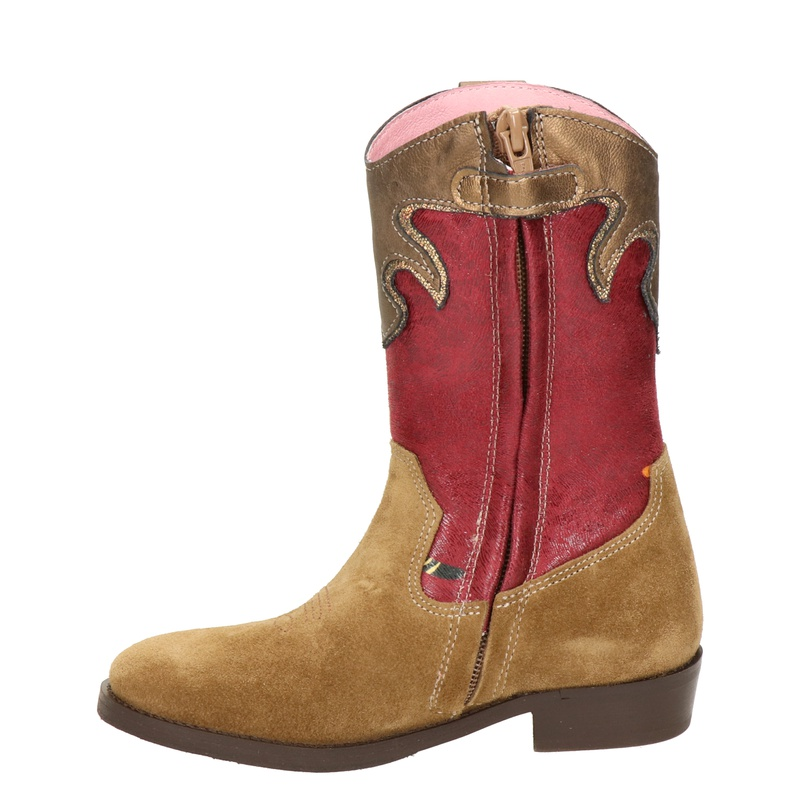Shoesme - Cowboylaarzen - Cognac