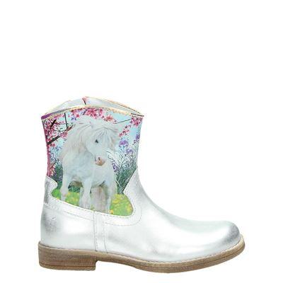 Wild meisjes laarsjes & boots zilver