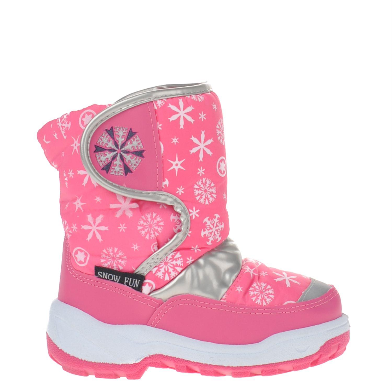 fb84c21fe8e Snow Fun meisjes snowboots roze