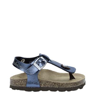 Kipling meisjes sandalen blauw